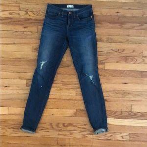 Madewell Distressed Skinny Skinny Jean